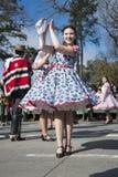 Cueca Chilena, danse traditionnelle Photos libres de droits