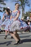 Cueca Chilena, danza tradicional Foto de archivo libre de regalías