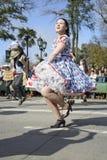 Cueca Chilena, danza tradicional Imagen de archivo libre de regalías