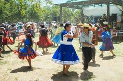 Cueca Dancers Royalty Free Stock Image