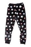 Cuecas com um teste padrão de estrela Isolado no branco Fotografia de Stock Royalty Free