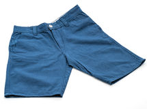 cuecas curtos no branco fotografia de stock