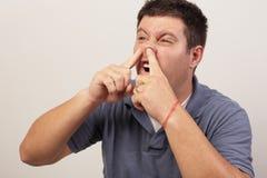 Cueillette lourde de nez Photo libre de droits