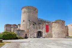 Cuellar Castle, Castile and Leon, Spain Stock Images