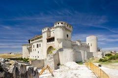 Cuellar Schloss Stockbilder