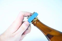Cuello 5 de la botella Fotos de archivo libres de regalías