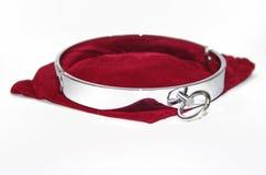 Cuello de acero muy atractivo y rizado Imágenes de archivo libres de regalías