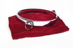 Cuello de acero muy atractivo y rizado Foto de archivo libre de regalías