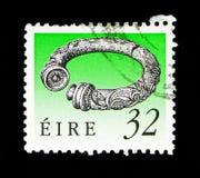 Cuello de Broighter (1r Cty A.C.), herencia irlandesa y tesoros 199 Imágenes de archivo libres de regalías