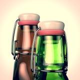 Cuello de la botella de cerveza libre illustration