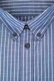 Cuello de la camisa para hombre imagen de archivo
