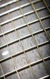 Cuello de la guitarra Imagen de archivo libre de regalías