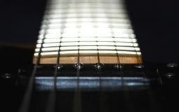 Cuello de la guitarra fotos de archivo