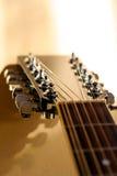 Cuello de la guitarra Imágenes de archivo libres de regalías
