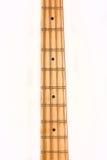 Cuello de la guitarra baja Imagenes de archivo
