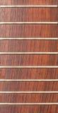 Cuello de la guitarra del palo de rosa Foto de archivo libre de regalías