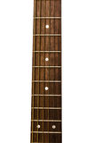 cuello de una guitarra Fotos de archivo