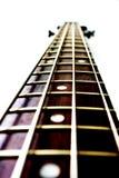 Cuello de una guitarra baja Imágenes de archivo libres de regalías