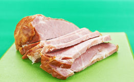 Cuello del cerdo Imagen de archivo