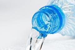 Cuello plástico de la botella Imagen de archivo