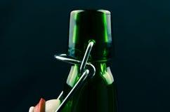 Cuello vacío de las botellas Imagen de archivo libre de regalías
