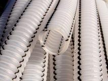 Cuellos de cisne del cable Foto de archivo libre de regalías