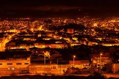 Cuenca西班牙语人聚居的区域 免版税库存图片