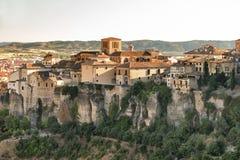 Cuenca Ισπανία, colgadas casas Στοκ φωτογραφίες με δικαίωμα ελεύθερης χρήσης