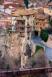 Cuenca, Καστίλλη Λα Mancha, Ισπανία, κρεμώντας σπίτια Στοκ φωτογραφία με δικαίωμα ελεύθερης χρήσης