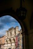 Cuenca, Ла Mancha Кастили, Испания, собор Стоковые Фотографии RF