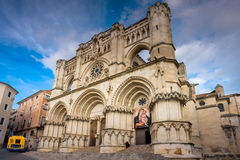 Cuenca, Ла Mancha Кастили, Испания, собор Стоковые Фото