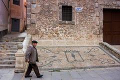 Cuenca, Ла Mancha Кастили, Испания Стоковое фото RF