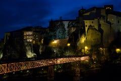 Cuenca au crépuscule images stock