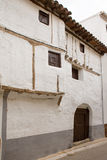 Cuenca Canete in Spain Castilla la Mancha white house Royalty Free Stock Images