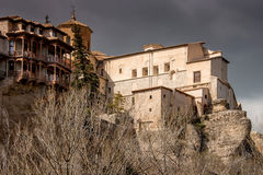 Cuenca, Castile La Mancha, Spain, Hanging Houses Royalty Free Stock Images