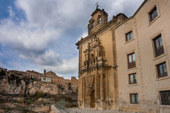 Cuenca, Castile La Mancha, Spain, Parador Royalty Free Stock Photo