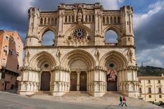 Cuenca CastileLa Mancha, Spanien, domkyrka Royaltyfria Bilder