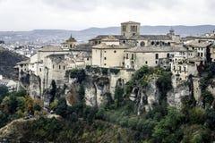 Cuenca, Castilià los angeles Mancha '-, Hiszpania Zdjęcia Stock