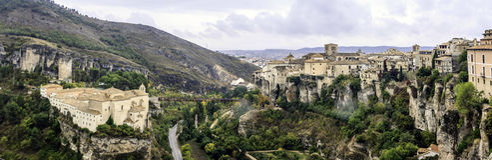 Cuenca, Castilià los angeles Mancha '-, Hiszpania Obraz Stock