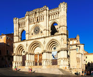 Cuenca Cathedral  in Cuenca, Spain Royalty Free Stock Image
