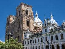 Cuenca - Cathedral Of The Immaculate Conception, Ecuador Stock Image