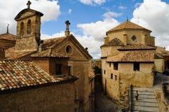 Cuenca church Stock Image