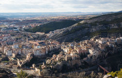 Cuenca city in La Mancha district in central Spain Stock Photography