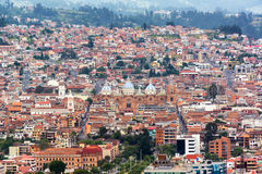 Cuenca Cityscape Stock Images