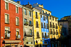 Cuenca colored Stock Image