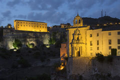 Cuenca Convents - Cuenca - Spain Royalty Free Stock Image