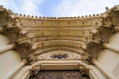 Cuenca domkyrka Arkivfoto