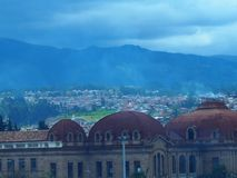 Cuenca Ecador royaltyfri foto
