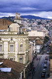 Cuenca, Ecuador. This image shows the colonial streets of Cuenca, Ecuador Stock Photography