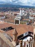 Cuenca, Ecuador. Cityscape of the historical center royalty free stock photos